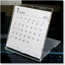 カレンダー 2014 カレンダー シンプル : 2014)年 CDケース用 カレンダー ...