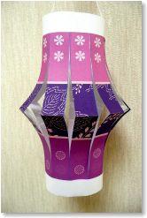 七夕飾りの 折り紙(素材型紙 ... : ちょうちん 折り紙 : 折り紙