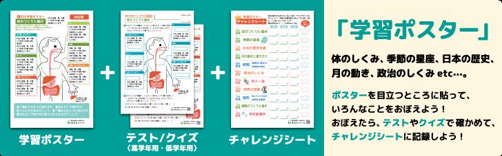 小学生学習ポスター 無料ダウンロード・印刷