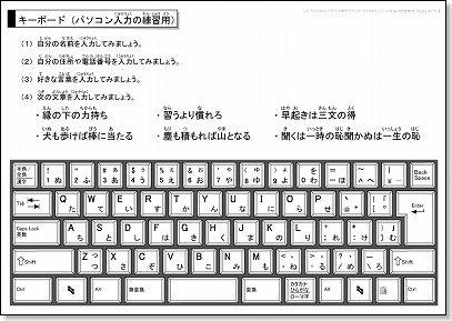 すべての講義 キーボード打ち方練習 : パソコン・キーボード画像 ...