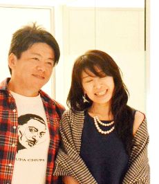 よっちママ:智千(ちゆき)さん ホリエモン(堀江貴文さん)との写真