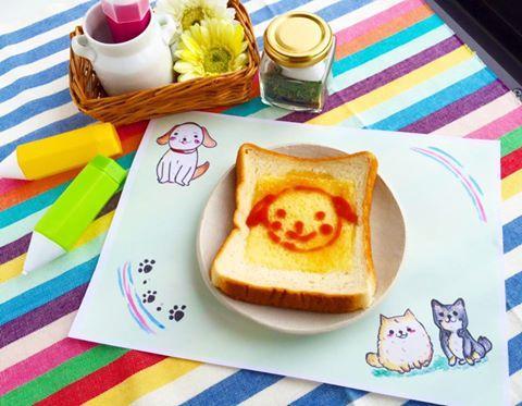 かんたん☆トースト絵きうた動画作成中です♪