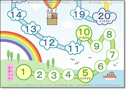 ... ・印刷|幼児の学習素材館 : 幼児 知育 プリント : プリント
