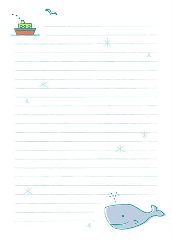 便箋 無料ダウンロード幼児教材知育プリントちびむすドリル幼児