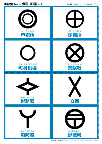 税務署 地図 記号