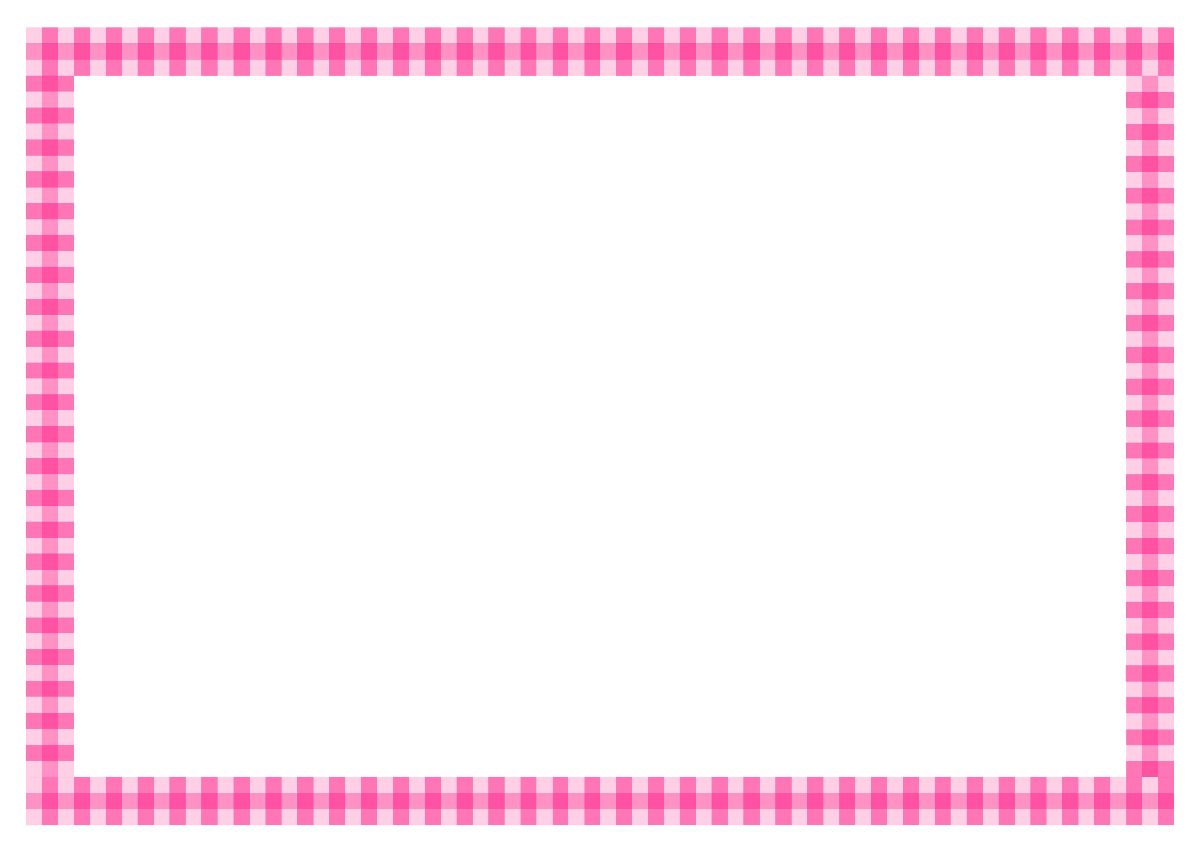 メッセージカード枠 - word等 挿入用 テンプレート イラスト画像 無料