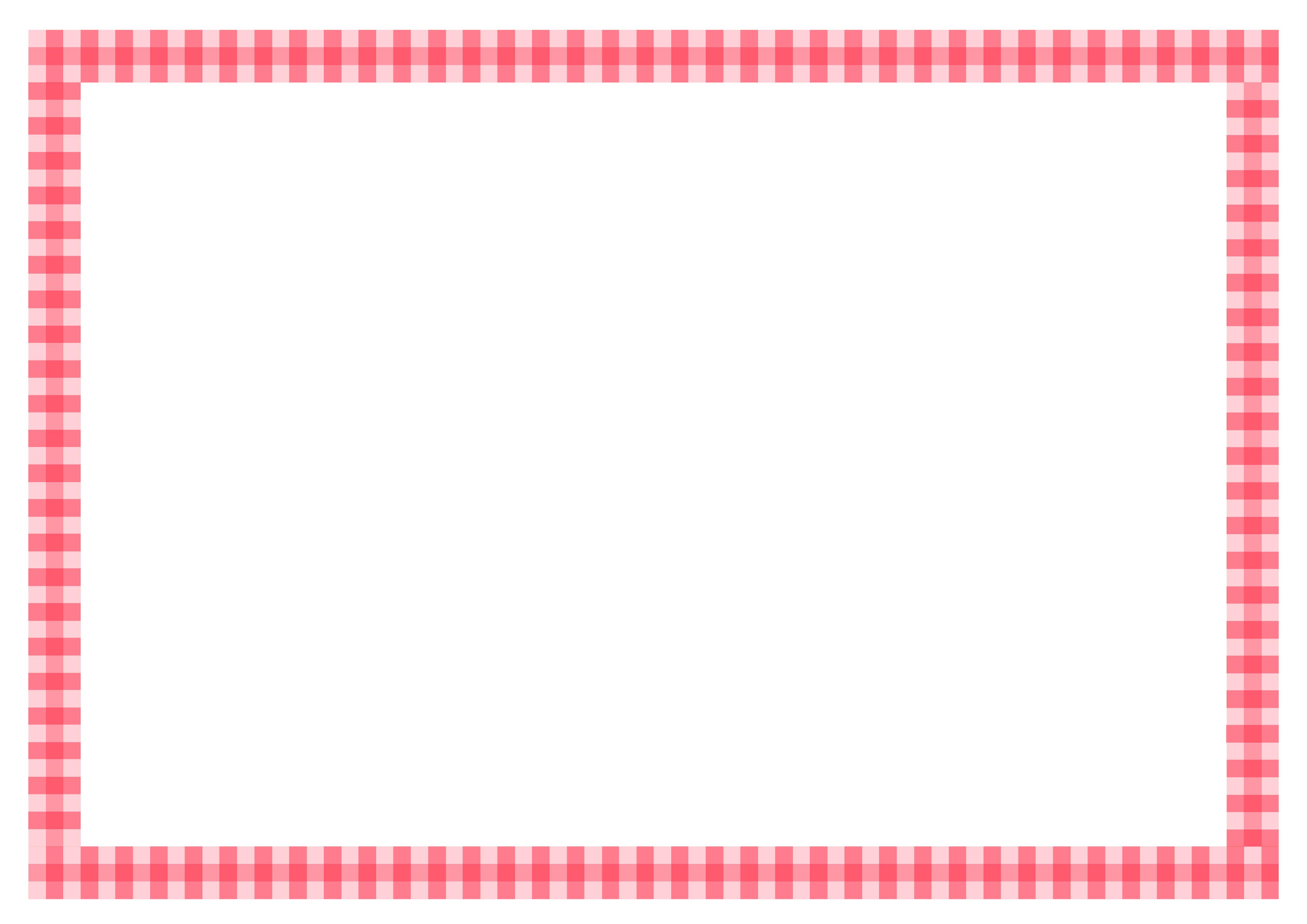 メッセージカード枠 - Word等 挿入用 テンプレート イラスト画像 無料ダウンロード|幼児教材・知育プリント