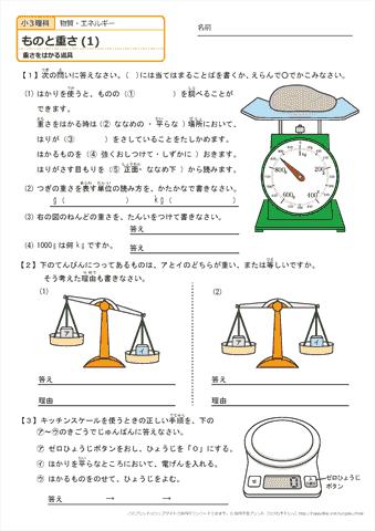 重 さ を はかる 漢字