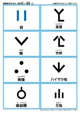 森林 地図 記号