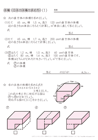 方 求め の 立方体 表面積 の