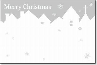 カード クリスマスカード 無料ダウンロード : ... 素材のクリスマスカード特集